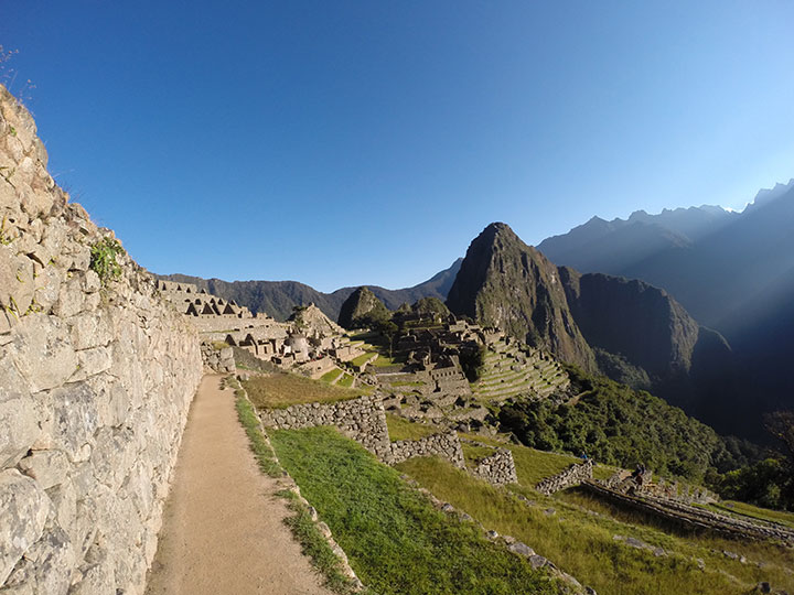 Fourth day of the Inca jungle, arrival at Machu Picchu