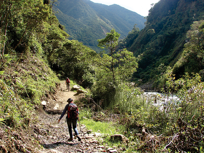 salkantay trek third day